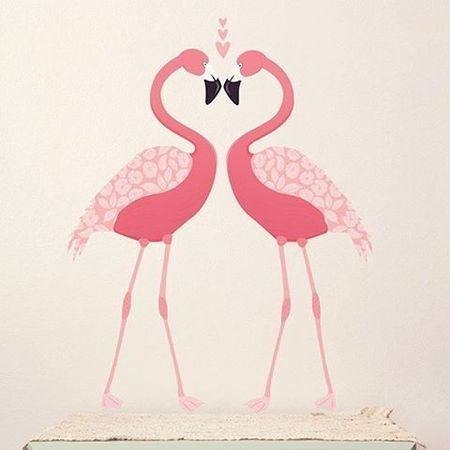 Love Mae Flamingo Wall stickers