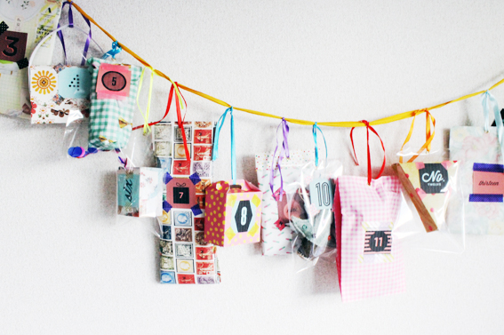 Hello Sandwich Advent Garland