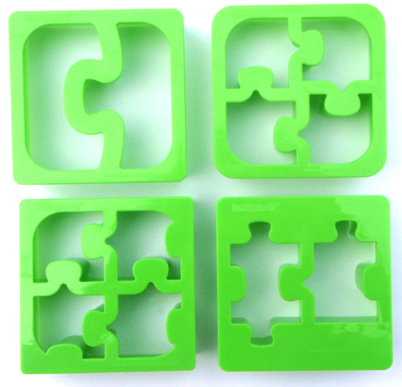 Lunch Punch Puzzle Sandwich Cutters